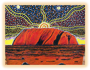 Aboriginal dreamtime - Geology of Australia